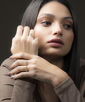 anillos dorados